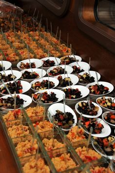 Catering on board for our Gulet Party