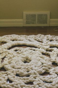 Always Rooney: How I Made My Own Giant Doily Rug | Pattern