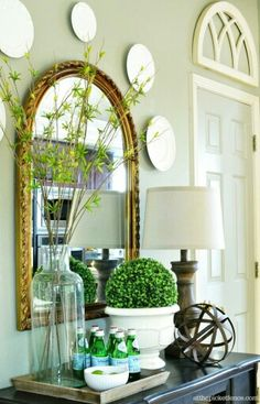 Spring Decorating Ideas | Pinterest | Spring, Decorating and Living ...