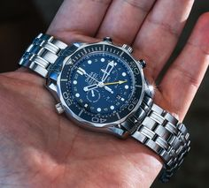 Omega Seamaster 300M Chronograph GMT Co-Axial Watch Hands-On
