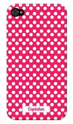 pink dot iphone case...they have a cute wallpaper app too.