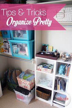 Entirely Eventful Day: Tips and Tricks for Organizing Pretty