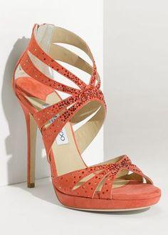 Glittering Indian Wedding Shoes - Jimmy Choo Garland Glitter Sandal, $1,295