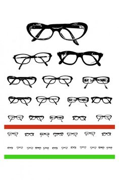 Spectacle Eye Chart Printable