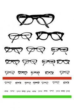 Spectacle Eye Chart Printable