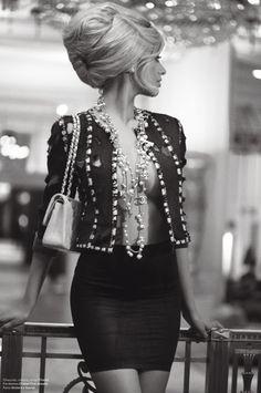 Zahia Dehar-- so sexy love the chanel necklace