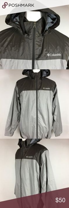 """COLUMBIA SPORTSWEAR Light-weight Hooded Jacket L A Fantastic hooded Light-Weight Hooded Jacket by Columbia Sportswear Size: L Front zip Hooded with adjustable ties Adjustable ties at the hem Raglan sleeved Side Zip pockets Mint Condition! Measurements Underarm to Underarm: 24"""" Length: 29.5"""" Sleeve: 31.75"""" Measured at the collar seam to end cuffs Shoulder: Drop Columbia Sportswear Jackets & Coats Performance Jackets"""