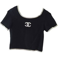 Designer Clothes, Shoes & Bags for Women Chanel Outfit, Chanel Shirt, Chanel Fashion, Vintage Outfits, Vintage Fashion, Kpop Fashion Outfits, Cute Outfits, Casual Outfits, Aesthetic Clothes