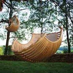 A twist on the hammock.