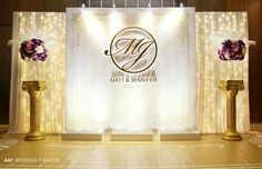 New Wedding Backdrop Stage Receptions Photo Booths Ideas Wedding Backdrop Design, Wedding Reception Backdrop, Diy Backdrop, Backdrop Decorations, Wedding Stage, Ceremony Backdrop, Bridal Shower Decorations, Decoration Table, Wedding Centerpieces