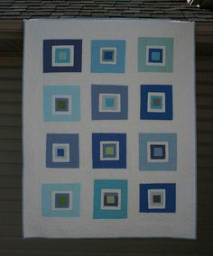 sue likes blue-front by crazymomquilts, via Flickr