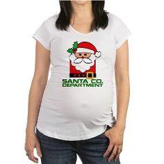 Santa Department Maternity T-Shirt > Santa Co. Department > NASDESIGN 88 - Designer Marketplace Shop