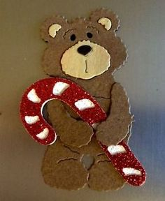 Candy Cane Animals | CARDS-SCRAPBOOKS-CARDS-LOVE-HOLIDAYS-PETS-ANIMALS-PARTIES-TEDDY-BEAR ... Love Holidays, Animal Cards, Candy Canes, Scrapbook Cards, Scrapbooks, Teddy Bear, Pets, Christmas, Animals