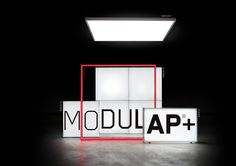 LIGHTWALL, LIGHTBOX, FRAME, TOP LIGHT Modulap, das modulare System für visuelle…