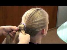"""Видео-урок по плетению косы """"рыбий хвост"""":"""