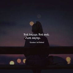 Feeling empty here. Feeling Empty Quotes, Mood Quotes, Attitude Quotes, Positive Quotes, Life Quotes, Empty Words Quotes, No Friends Quotes, Happy Quotes, Hurt Quotes