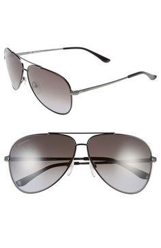 SALVATORE FERRAGAMO 60mm Aviator Sunglasses. #salvatoreferragamo #