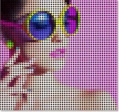 Фото в рисунок из цветных точек в Фотошоп / Photoshop уроки и всё для фотошоп - новые уроки каждый день!