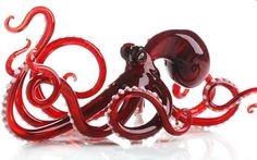 I love Octopuses! And tiny glass figurines. Double trouble!