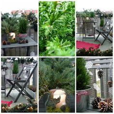 Świąteczny balkon http://homebywolff.blogspot.com/