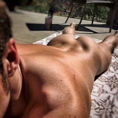 Back to the days of #sunsonbuns ... #Spring can kiss my #butt! #love #naked #sunbathing
