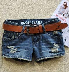 short of jeans for girls