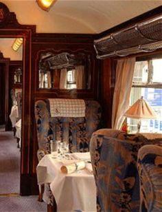 ♔ Orient Express Pullman dinning car
