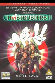 Buy Ghostbusters II from Zavvi, the home of pop culture. 80s Movies, 2 Movie, Movies To Watch, Ghost Busters 2, Supernatural Films, Ernie Hudson, Harold Ramis, Rick Moranis, Ghostbusters Movie