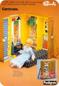 The complete guide to Sindy doll's scale houses and other buildings. 1970s Childhood, Childhood Memories, Doll Furniture, Dollhouse Furniture, 1970s Dolls, 1960s, Doll Closet, Sindy Doll, Cartoon Tv Shows