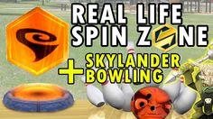 VooDood saves Skylanders in Real Life Spin Zone + Swap Force Bowling w/ ...
