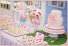 """* So Lovely Sweet Tables *: SWEET TABLE POUPEES """"LALALOOPSY"""""""