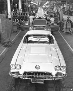 1958 Chevrolet Corvette Assembly. FROM MOTOR CITY TO MOTOR PITY... THE FAIL OF ENTITLED SOCIALISM...