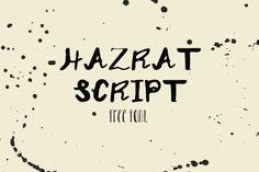 CreativeInsp | Hazrat Script Display Free Font