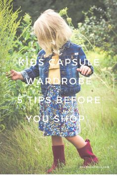 5 tips to help moms create a kids capsule wardrobe. (Toddler Outfit: hanna andersson dress, denim jacket) (scheduled via http://www.tailwindapp.com?utm_source=pinterest&utm_medium=twpin&utm_content=post104334201&utm_campaign=scheduler_attribution)