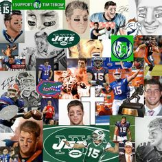 Tim Tebow collage