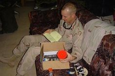 """Warning: habit forming!  Anysoldier.com !  You get to make a care package of exactly what your soldier wants.  So gratifying and kids love it.  Just go to the site and click on """"where to send"""" and pick a soldier and start reading their stories and find one to help out.  It's habit forming!"""