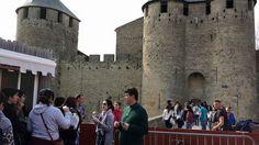 Carcassonne, capital de la región cátara. Es como trasladarse a la Edad Media. Montpellier, Street View, Middle Ages, Summer Time