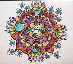 """mandala - """"nothing really"""" been a while since I've seen this one- wasn't sure if it was mine. (it is)"""
