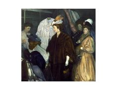 William James Glackens - The Shoppers - Art Prints from LACMA
