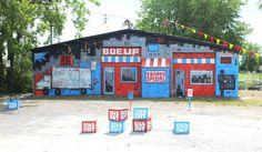 Osheaga Skewville Block Party 2012 by Fred Caron, via Behance