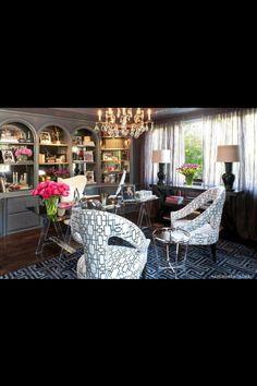 Beautiful room! -Kris Jenner office