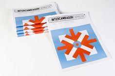 El Intercambiador Express on Behance. #design #graphicdesign #editorialdesign #layout #printdesign #diseño