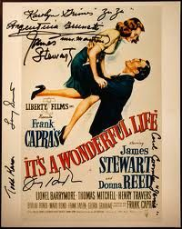 Autographed movie poster