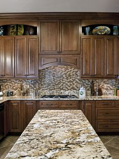 White Kitchen Cabinets Granite Countertops Design, Pictures, Remodel, Decor  And Ideas   Page