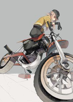 [pixiv] Compositionally Amazing #anime #illustration