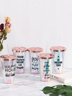 To find out about the Random Slogan Print Straw Cup at SHEIN, part of our latest Drinkware ready to shop online today! Cute Water Bottles, Drink Bottles, Cup With Straw, Cute Cups, Tumbler Cups, Bottle Design, Drinkware, Free Gifts, Slogan