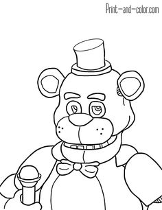 Five nights at freddy's colors 11