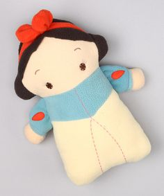 stylized plush snow white doll