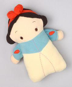 stylized plush snow white doll