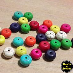 Synthetic Turquoise Round Beads, 10x6mm, Random Mixed Colours.Good for DIY jewellery making!30 pcs /pack$3.80 /packInterested parties, please PM me.I may be slow in replying you, your patience is appreciated.T